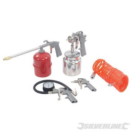 Air Tools & Compressor Accessories Kit 5pce